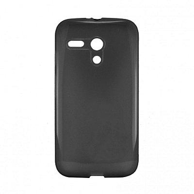 Capa de Silicone TPU Fumê para Motorola Moto G (1ª Geração)