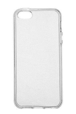 Capa de Silicone TPU Transparente para iPhone 5C