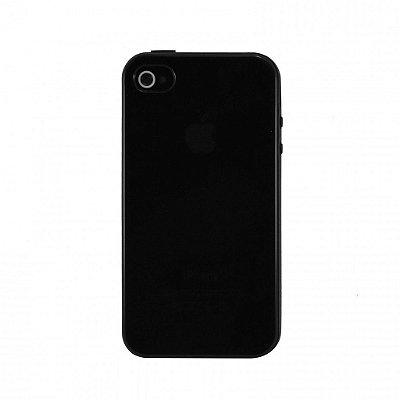 Capa de Silicone TPU Fumê para iPhone 4 / 4s