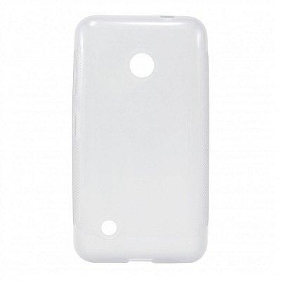 Capa de Silicone TPU Transparente para Nokia Lumia N530