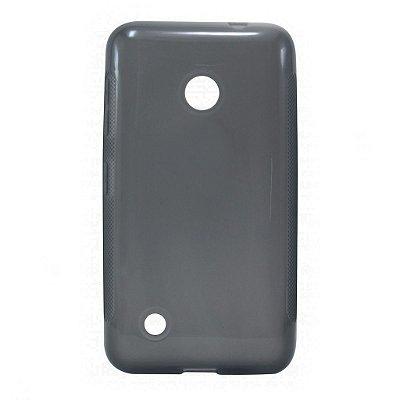 Capa de Silicone TPU Fumê para Nokia Lumia N530