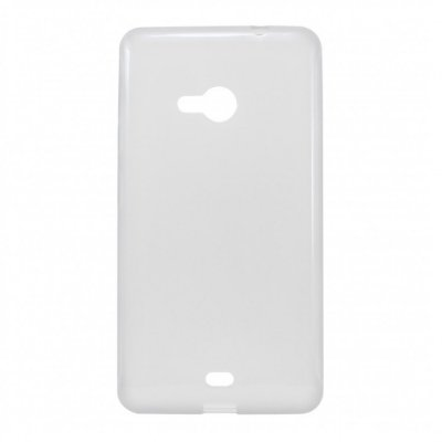 Capa de Silicone TPU Transparente para Nokia Lumia N535