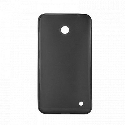 Capa de Silicone TPU Fumê para Nokia Lumia N630