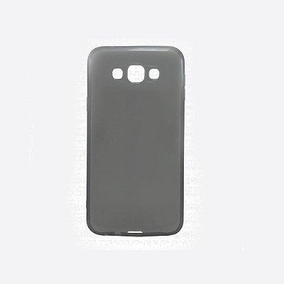 Capa de Silicone TPU Fumê para Samsung Galaxy E5