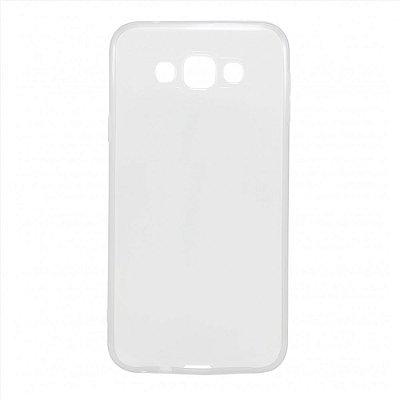 Capa de Silicone TPU Transparente para Samsung Galaxy E7