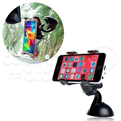 Suporte para GPS e Smartphone para Carro Bracket