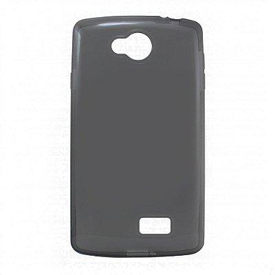 Capa de Silicone TPU Fumê para LG F60