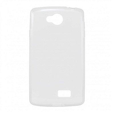 Capa de Silicone TPU Transparente para LG F60