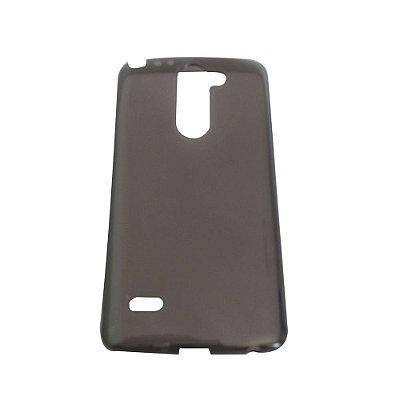 Capa de Silicone  TPU Fumê para LG G3 Stylus D690