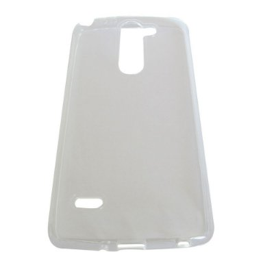 Capa de Silicone TPU Transparente para LG G3 Stylus D690