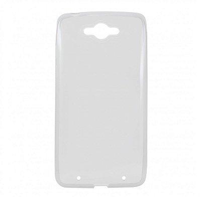 Capa de Silicone TPU Transparente para Motorola Moto Maxx