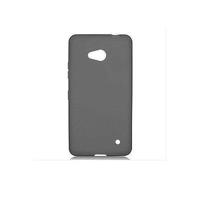 Capa de Silicone TPU Fumê para Nokia Lumia N640