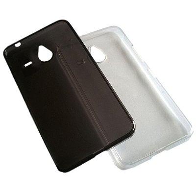 Capa de Silicone TPU Transparente para Nokia N640 XL