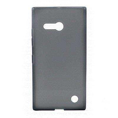 Capa de Silicone TPU Fumê para Nokia Lumia N730
