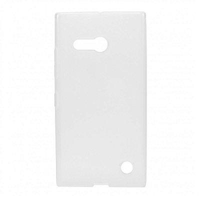 Capa de Silicone TPU Transparente para Nokia Lumia N730