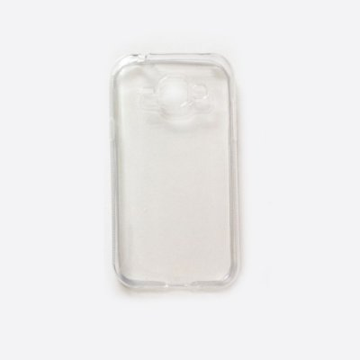 Capa de Silicone TPU Transparente para Samsung Galaxy J1