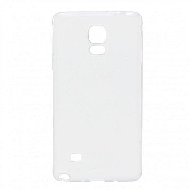 Capa de Silicone TPU Transparente para Samsung Galaxy Note 4