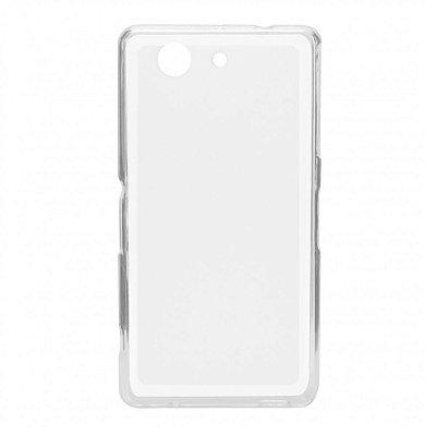 Capa de Silicone TPU Transparente para Sony Z3 Compact