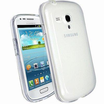 Capa de Silicone TPU Transparente para Samsung Galaxy S3 Mini i8190