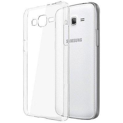 Capa de Silicone TPU Transparente para Samsung Galaxy J5