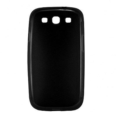 Capa de Silicone TPU Fumê para Samsung Galaxy S3 i9300