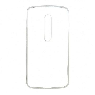 Capa de Silicone TPU Transparente para Motorola Moto X Play