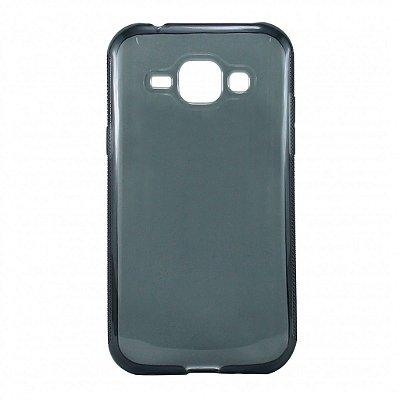 Capa de Silicone TPU Fumê para Samsung Galaxy J1 Ace