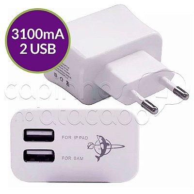 Fonte / Carregador USB com 2 Entradas