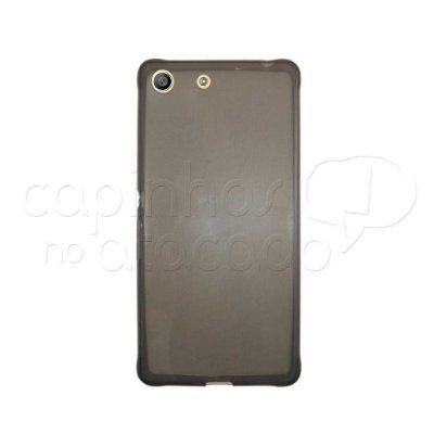 Capa de Silicone TPU Fumê para Sony Xperia M5