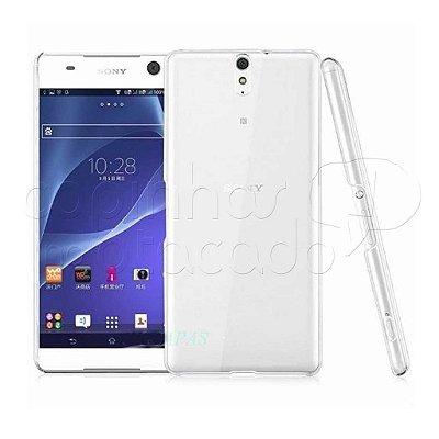 Capa de Silicone TPU Transparente para Sony Xperia C5