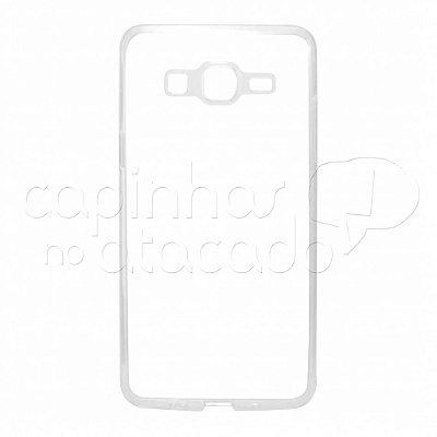 Capa de Silicone TPU Transparente para Samsung Galaxy On5
