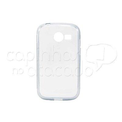 Capa de Silicone TPU Transparente para Samsung Galaxy Pocket 2 Duos G110