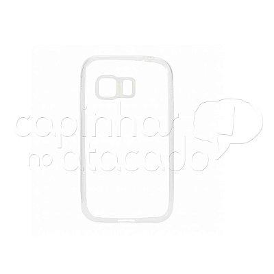 Capa de Silicone TPU Transparente para Samsung Galaxy Young 2 Duos G130