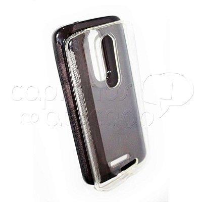 Capa de Silicone TPU Transparente para Motorola Moto X Force