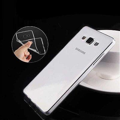"""Capa de Silicone Ultra Fina """"Casca de Ovo"""" para Celulares da Samsung"""