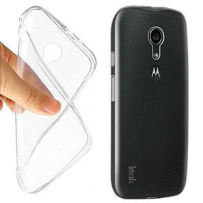 """Capinha de Silicone Ultra Fina """"Casca de Ovo"""" para Celulares da Motorola"""