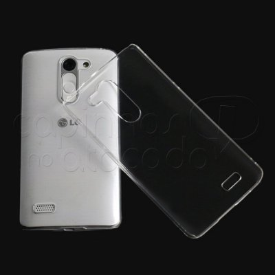 """Capa de Silicone Ultra Fina """"Casca de Ovo"""" para Celulares da LG"""