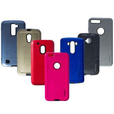 Capa Anti-Impacto Lisa Colors - Cores Sortidas