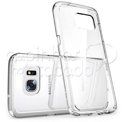 Capa de Silicone TPU Transparente para Samsung Galaxy S7