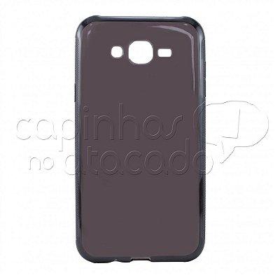 Capa de Silicone TPU Fumê para Samsung Galaxy J1 Mini
