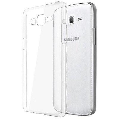 Capa de Silicone TPU Transparente para Samsung Galaxy J1 Mini