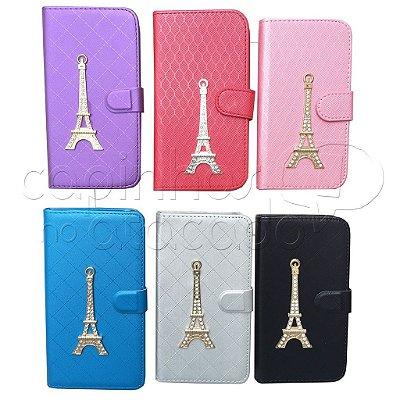 Carteira Torre Eiffel com Strass - Cores Sortidas