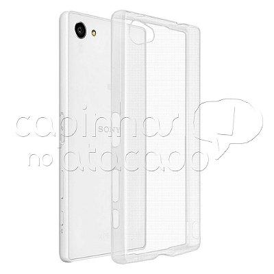 Capa de Silicone TPU Transparente para Sony Xperia Z5