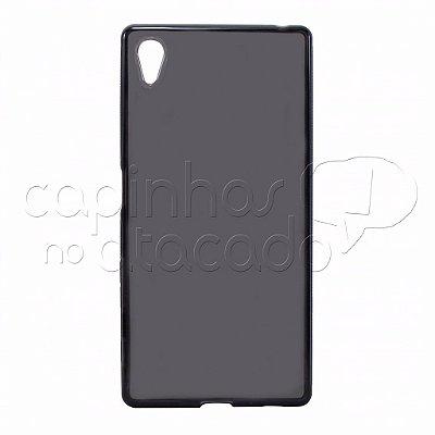 Capa de Silicone TPU Fumê para Sony Xperia Z5