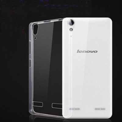 "Capa de Silicone Ultra Fina ""Casca de Ovo"" para Celulares da Lenovo"