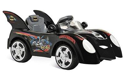 Mini Veículo Brinquedo Elétrico Carro Batman 6v Bandeirante