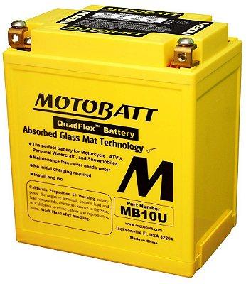 Bateria Motobatt Mb10u Yb10la2 Suzuki Intruder 250
