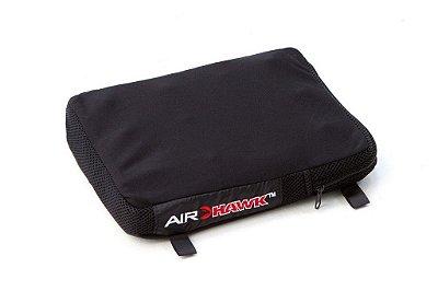 Almofada Pneumática Air Hawk Retangular Conforto em Viagem Moto