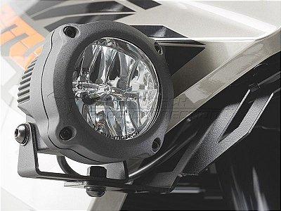 Jogo De Farol De Milha Neblina Hawk LED Off Road Preto SW-Motech