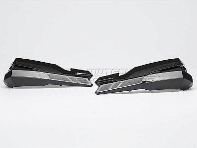 Kit De Capa Do Protetor De Mão Kobra Preta SW-Motech